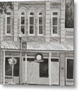 Building On The Square Metal Print