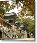 Bulguksa Buddhist Temple Metal Print