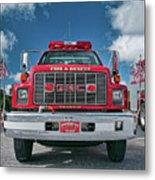 Burnington Iolta Fire Rescue - Tanker Engine 1550, North Carolina Metal Print