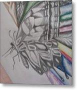 Butterfly Light Metal Print