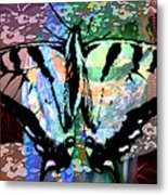 Butterfly Pet Metal Print