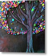 Button Tree 0006 Metal Print