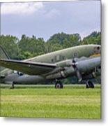 C-46 Commando Tinker Belle Metal Print