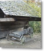 Cable Mill Barn Metal Print