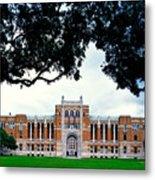 Campus Of Rice University Metal Print