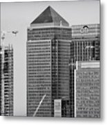 Canary Wharf London Metal Print