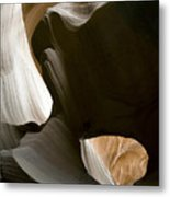 Canyon Sandstone Abstract Metal Print by Mike Irwin