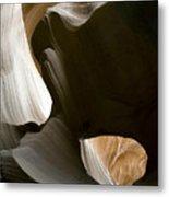 Canyon Sandstone Abstract Metal Print