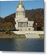 Capital Of West Virginia In Charleston Metal Print