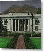 Capitol Building Negros Oriental Metal Print