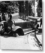 Car Accident, C1919 Metal Print
