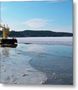 Car Ferry Metal Print