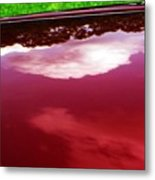 Car Reflection 4 Metal Print