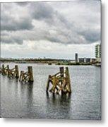 Cardiff Bay Panorama Metal Print