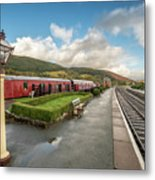 Carrog Railway Station Metal Print