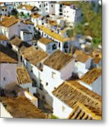 Casares Rooftops Metal Print