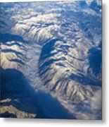 Cascade Mountains Metal Print