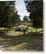 Cassadaga Spiritualist Camp In Florida Metal Print