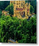Castle Hohenschwangau Metal Print
