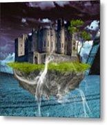 Castle In The Sky Art Metal Print