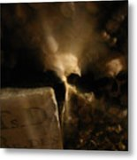 Catacombs Paris France Metal Print