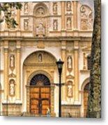 Catedral Antigua Guatemala - Guatemala Vii Metal Print