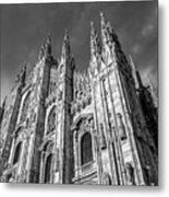 Cathedral Of Milan Metal Print