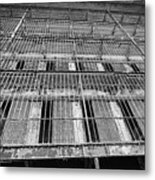 Cell Block Metal Print