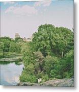Central Park In Summer Metal Print