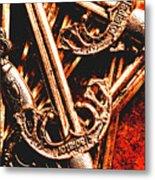 Centurion Of Battle Metal Print