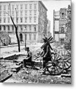 Charleston Ruins, 1865 Metal Print