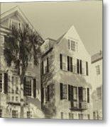 Charleston Style Houses Metal Print