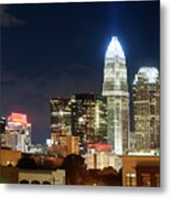 Charlotte Skylilne At Night Metal Print