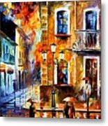 Charming Night Metal Print