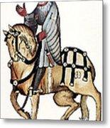 Chaucer: Canterbury Tales Metal Print