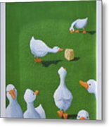Cheese And Quackers Metal Print
