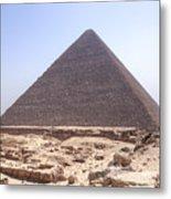 Cheops Pyramid - Egypt Metal Print