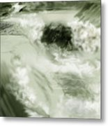 Cherry Creek White Water Metal Print by Anne Norskog