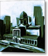 Chicago Federal Building 540 3 Metal Print