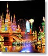 Chinese Lantern Festival Metal Print