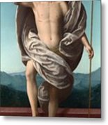 Christ Rising From The Tomb Metal Print