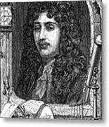 Christiaan Huygens, Dutch Polymath Metal Print