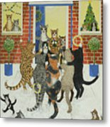 Christmas Carols Metal Print