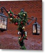 Christmas Lamps Metal Print