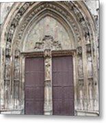 Church Entrance Metal Print