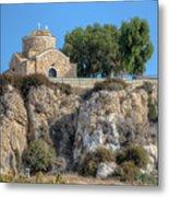 Church Of Profitis Elias - Cyprus Metal Print