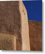 Church Taos Nm Metal Print