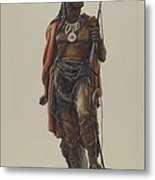 Cigar Store Indian Metal Print