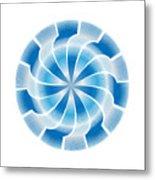 Circle Study No. 312 Metal Print