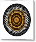 Circle Study No. 318 Metal Print